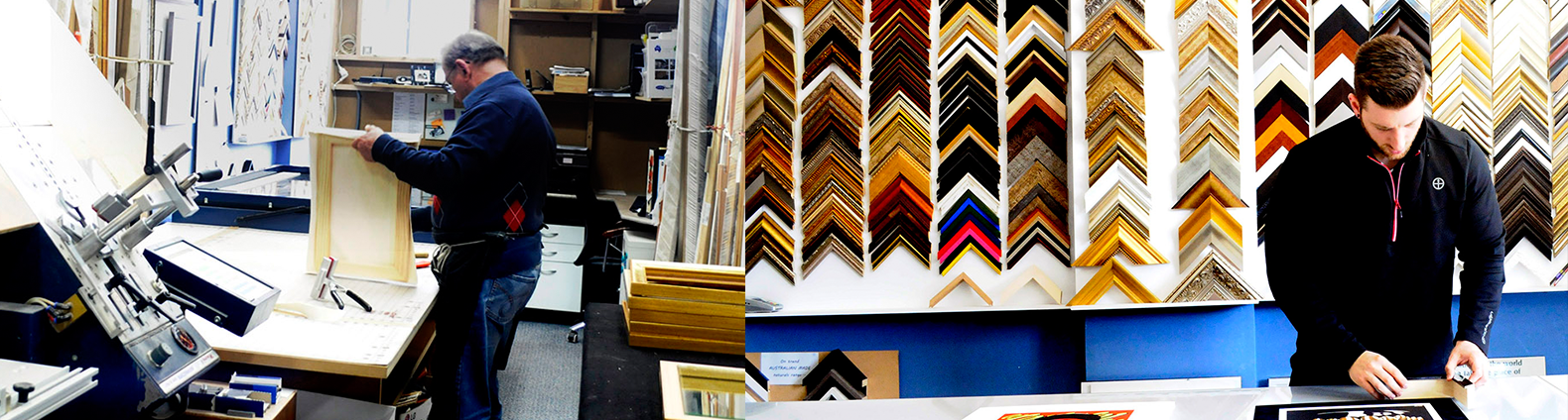 Custom framing for all industries