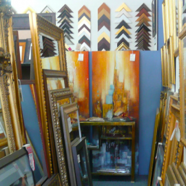 Custom Framing & Mirrors